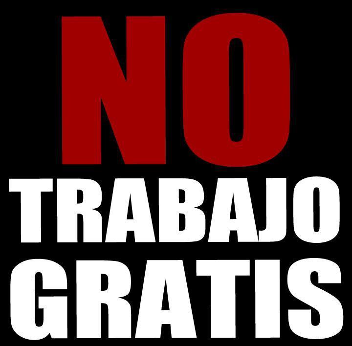©facebook.com/NoTrabajoGratis