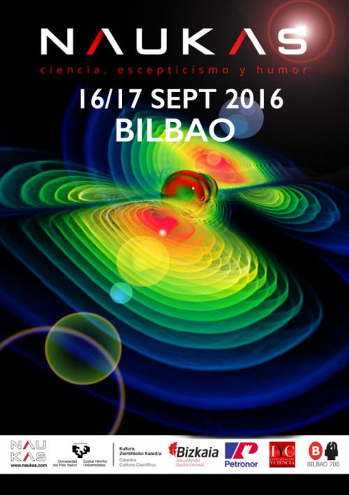 Cartel Naukas Bilbao 2016